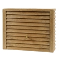 woody-light-wood Rain Barrel